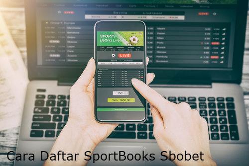 cara daftar judi sportsbook sbobet online